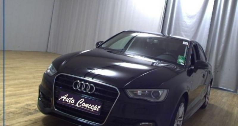 Audi A3 Berline 1.4 TFSI 150ch ultra COD S line Noir occasion à LANESTER - photo n°2