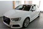 Audi A3 Berline 1.5 TFSI 150CH S LINE S TRONIC 7 Blanc à Villenave-d'Ornon 33
