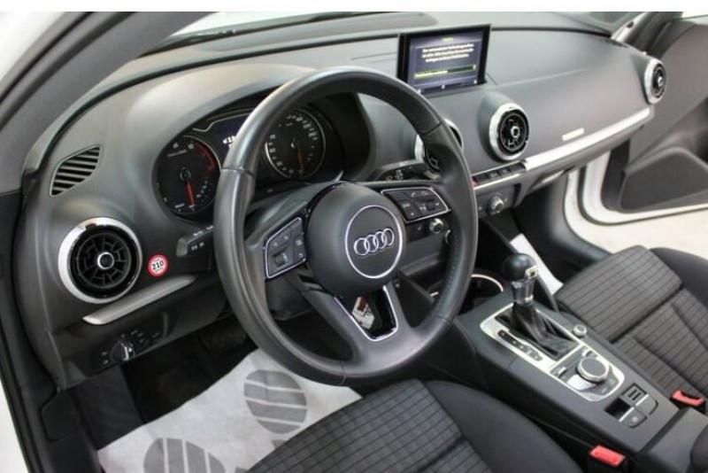 Audi A3 Berline 1.5 TFSI 150CH S LINE S TRONIC 7 Blanc occasion à Villenave-d'Ornon - photo n°5
