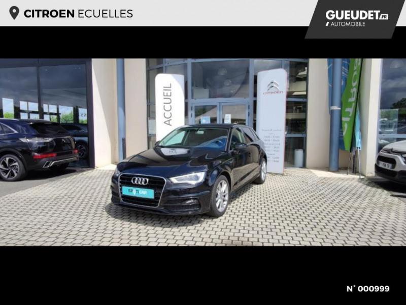 Audi A3 Berline 1.6 TDI 110ch FAP Ambiente Noir occasion à Écuelles