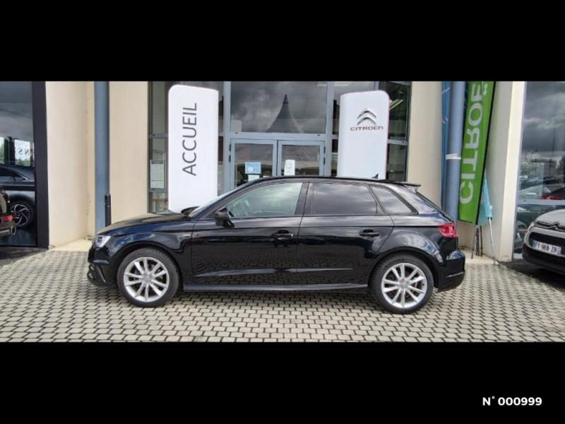 Audi A3 Berline 1.6 TDI 110ch FAP Ambiente Noir occasion à Écuelles - photo n°2