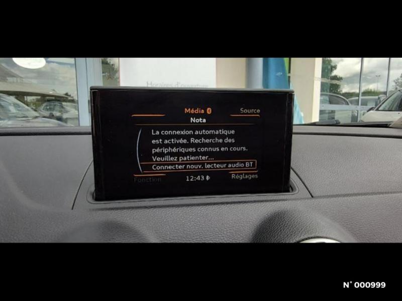 Audi A3 Berline 1.6 TDI 110ch FAP Ambiente Noir occasion à Écuelles - photo n°13