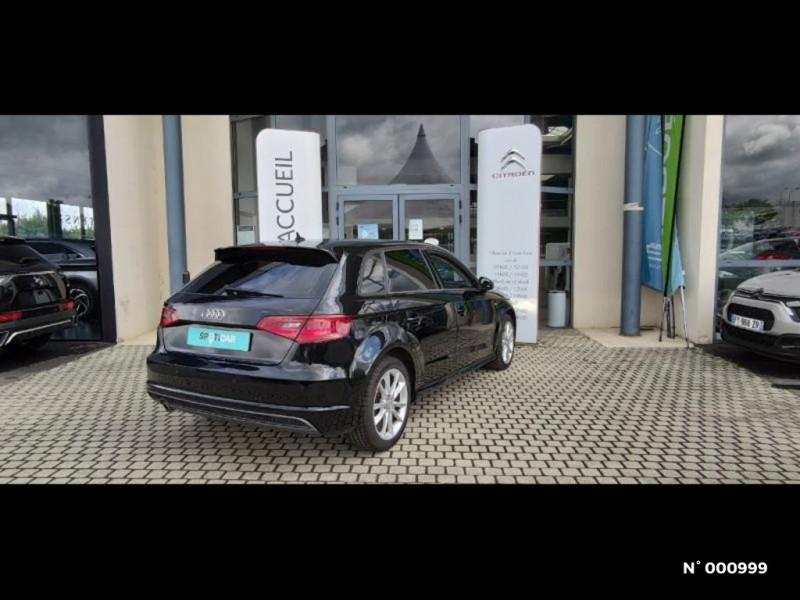Audi A3 Berline 1.6 TDI 110ch FAP Ambiente Noir occasion à Écuelles - photo n°5