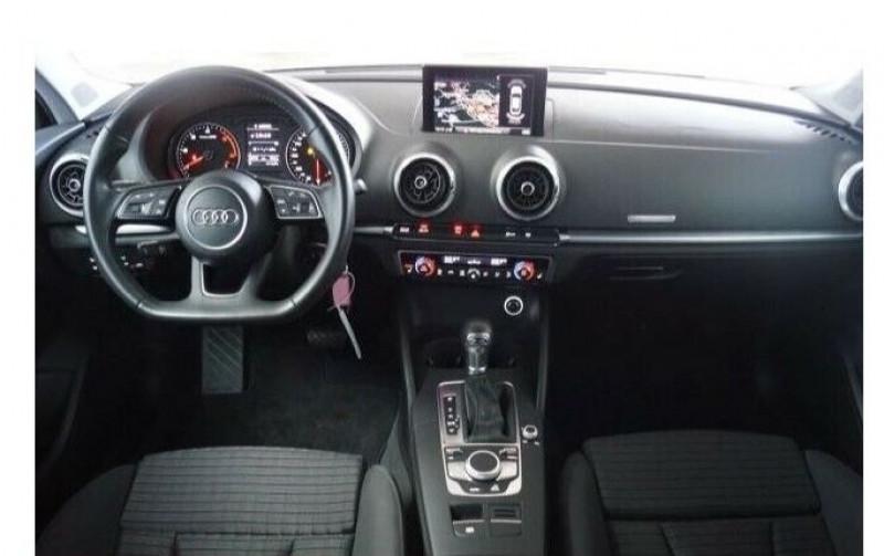Audi A3 Berline 1.6 TDI 116CH S LINE S TRONIC 7 Blanc occasion à Villenave-d'Ornon - photo n°4