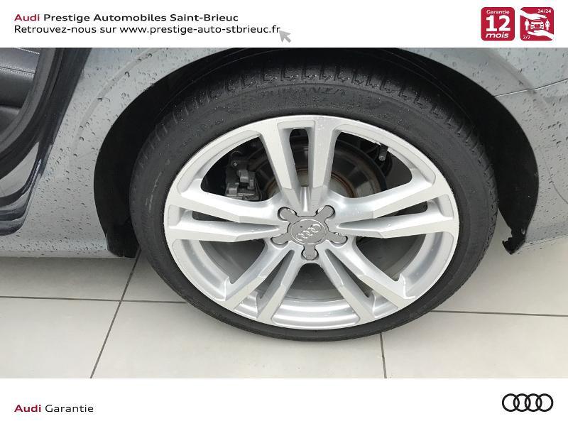 Audi A3 Berline 2.0 TDI 150ch S line S tronic 6 Gris occasion à Saint-Brieuc - photo n°8