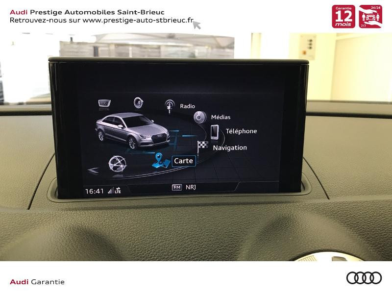 Audi A3 Berline 2.0 TDI 150ch S line S tronic 6 Gris occasion à Saint-Brieuc - photo n°13