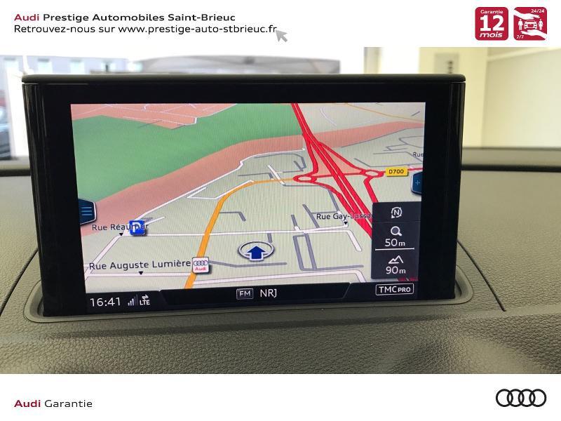 Audi A3 Berline 2.0 TDI 150ch S line S tronic 6 Gris occasion à Saint-Brieuc - photo n°12