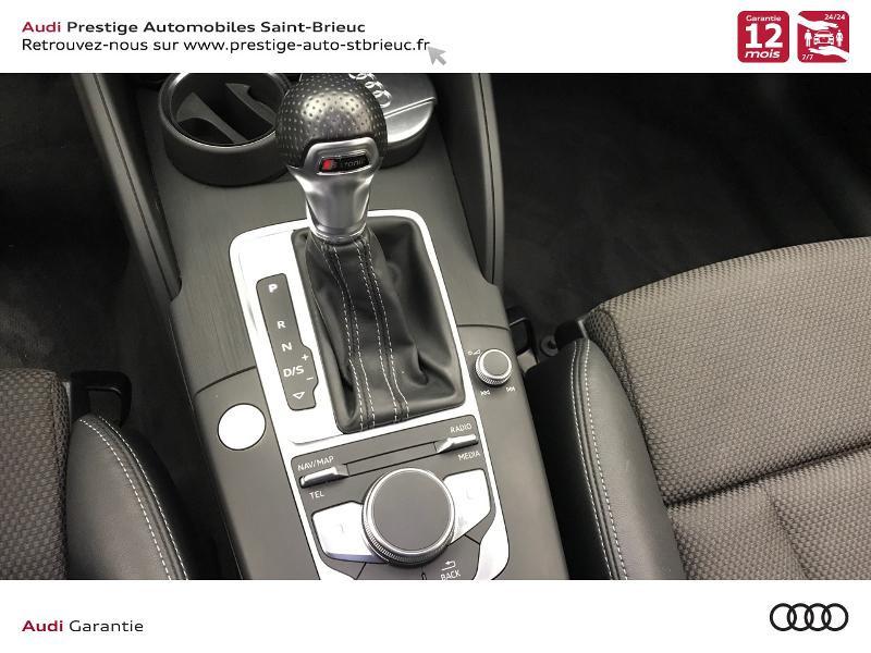 Audi A3 Berline 2.0 TDI 150ch S line S tronic 6 Gris occasion à Saint-Brieuc - photo n°15
