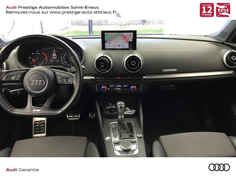 Audi A3 Berline 2.0 TDI 150ch S line S tronic 6 Gris occasion à Saint-Brieuc - photo n°6