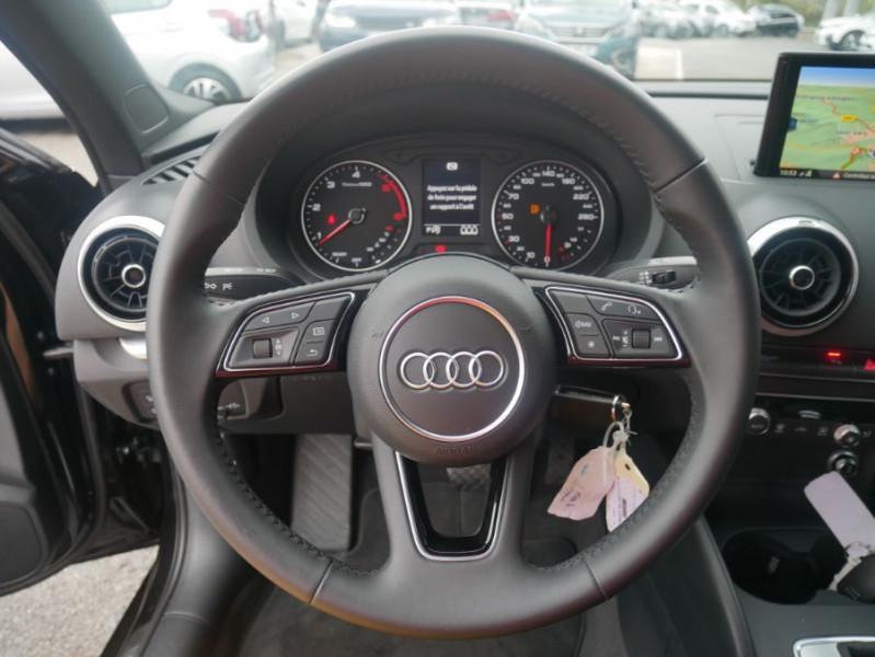 Audi A3 Berline 30 TDI 116 STRONIC SPORT GPS Xénon Plus  occasion à Toulouse - photo n°16