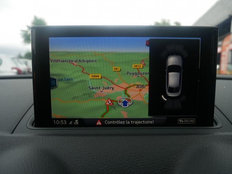 Audi A3 Berline 30 TDI 116 STRONIC SPORT GPS Xénon Plus  occasion à Toulouse - photo n°15