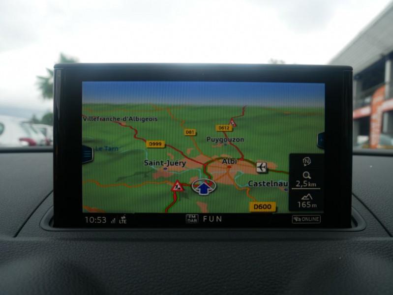 Audi A3 Berline 30 TDI 116 STRONIC SPORT GPS Xénon Plus  occasion à Toulouse - photo n°14