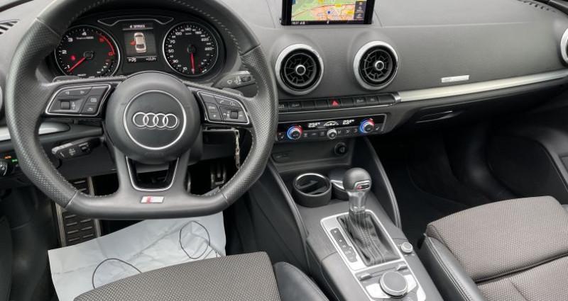 Audi A3 Berline III 2.0 TDI 150ch S line S tronic 7 Noir occasion à SELESTAT - photo n°5