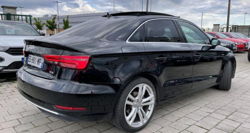 Audi A3 Berline III 2.0 TDI 150ch S line S tronic 7 Noir occasion à SELESTAT - photo n°3