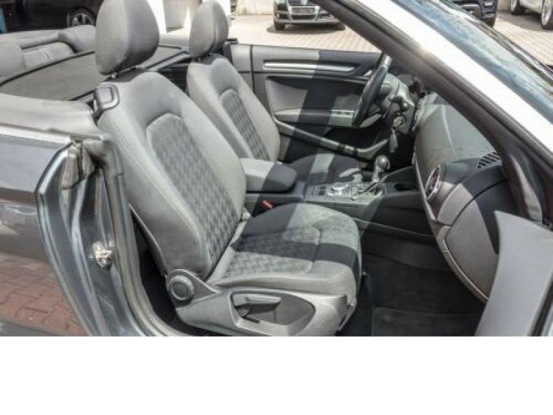 Audi A3 Cabriolet 1.4 TFSI 125 cv Gris occasion à Beaupuy - photo n°5