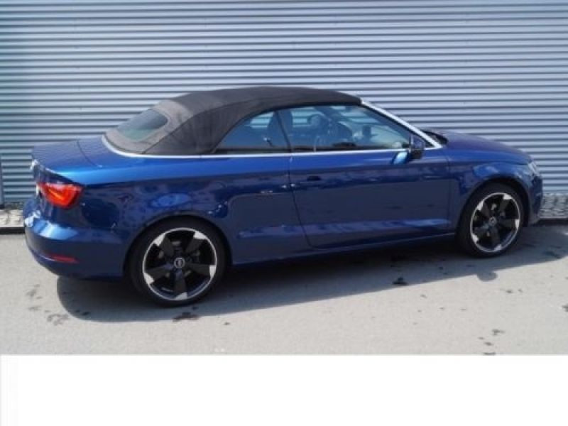 Audi A3 Cabriolet 1.4 TFSI 125 cv Bleu occasion à Beaupuy - photo n°3