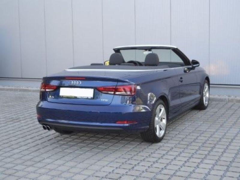 Audi A3 Cabriolet 1.4 TFSI 125 S Tronic Bleu occasion à Beaupuy - photo n°3