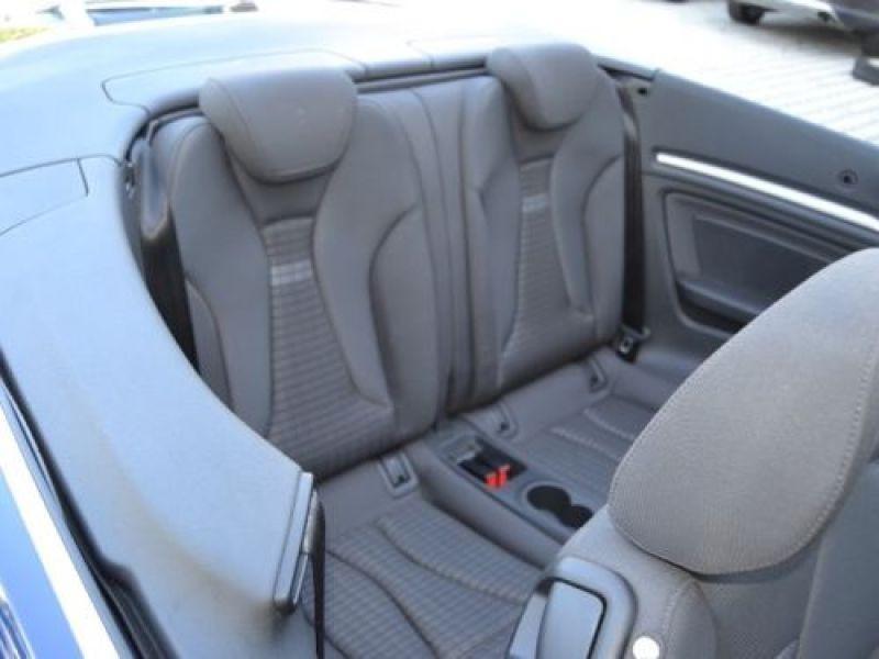Audi A3 Cabriolet 1.4 TFSI 125 S Tronic Bleu occasion à Beaupuy - photo n°5