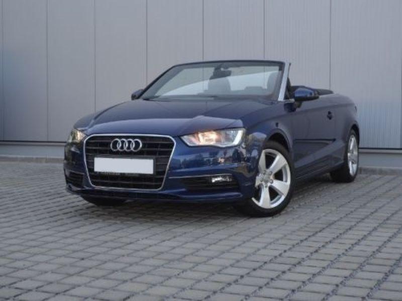 Audi A3 Cabriolet 1.4 TFSI 125 S Tronic Bleu occasion à Beaupuy