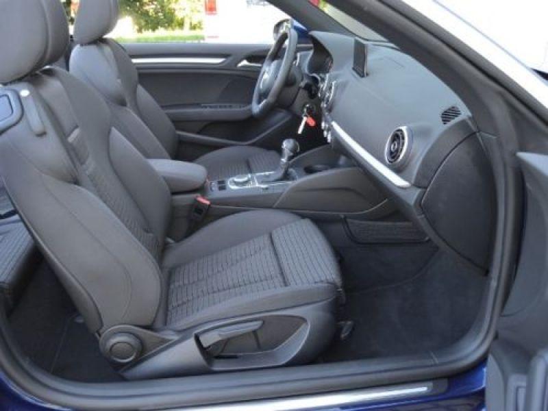 Audi A3 Cabriolet 1.4 TFSI 125 S Tronic Bleu occasion à Beaupuy - photo n°4
