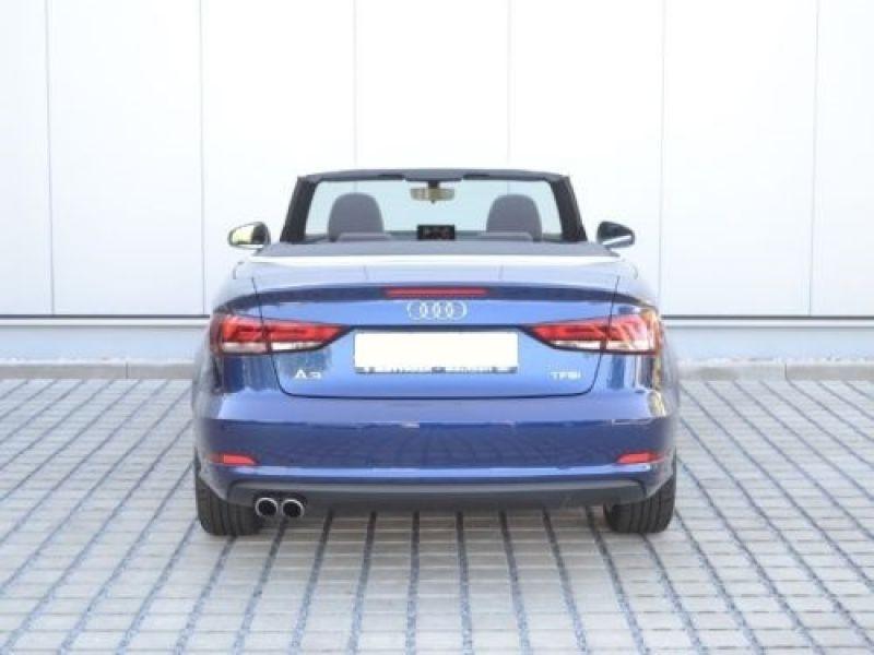 Audi A3 Cabriolet 1.4 TFSI 125 S Tronic Bleu occasion à Beaupuy - photo n°9