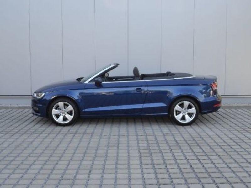 Audi A3 Cabriolet 1.4 TFSI 125 S Tronic Bleu occasion à Beaupuy - photo n°7
