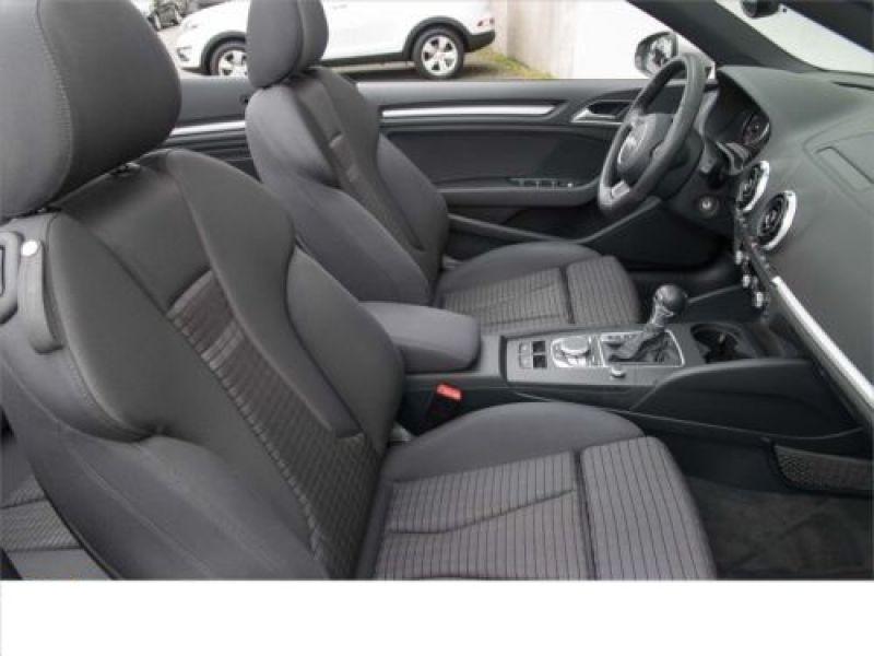 Audi A3 Cabriolet 1.4 TFSI 150 S tronic Gris occasion à Beaupuy - photo n°4