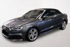 Audi A3 Cabriolet 1.4 TFSI COD 150CH S LINE S TRONIC 7 Gris à Villenave-d'Ornon 33