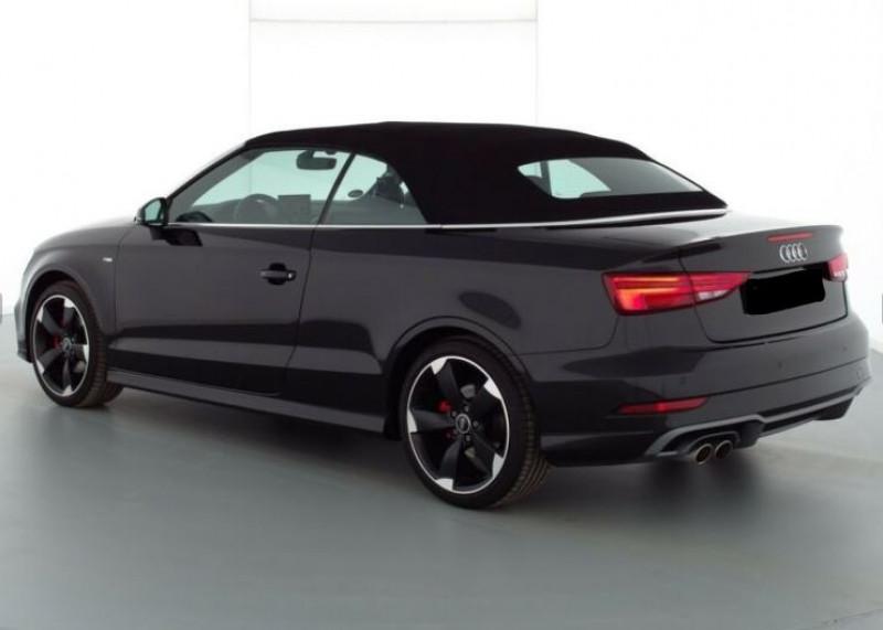 Audi A3 Cabriolet 1.5 TFSI 150CH COD SPORT S TRONIC 7 Noir occasion à Villenave-d'Ornon - photo n°5