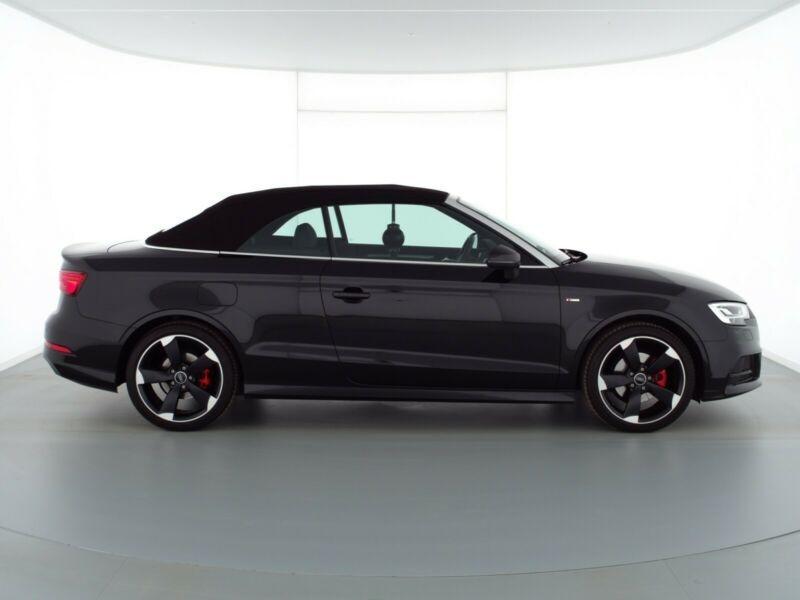 Audi A3 Cabriolet 1.5 TFSI 150CH COD SPORT S TRONIC 7 Noir occasion à Villenave-d'Ornon - photo n°3