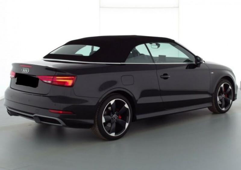 Audi A3 Cabriolet 1.5 TFSI 150CH COD SPORT S TRONIC 7 Noir occasion à Villenave-d'Ornon - photo n°4