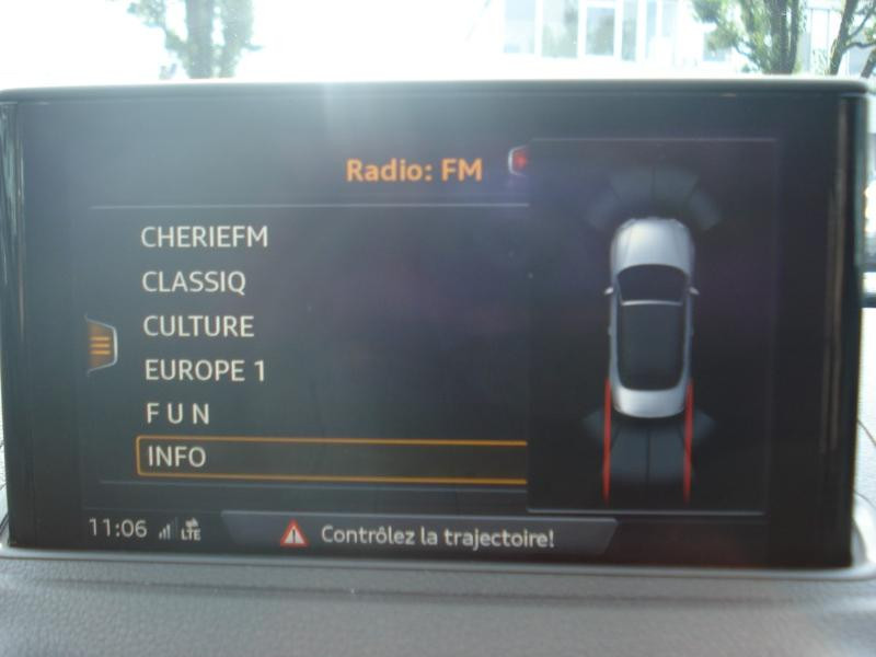Audi A3 Cabriolet 1.5 TFSI 150ch COD Sport Bleu occasion à Aurillac - photo n°7
