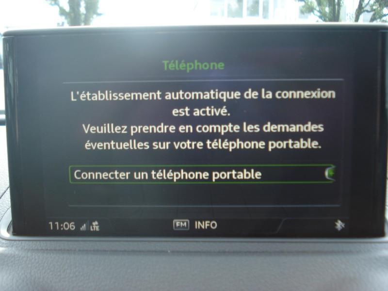 Audi A3 Cabriolet 1.5 TFSI 150ch COD Sport Bleu occasion à Aurillac - photo n°5