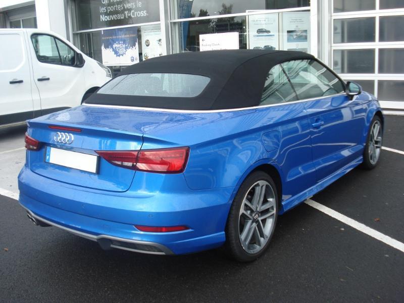 Audi A3 Cabriolet 1.5 TFSI 150ch COD Sport Bleu occasion à Aurillac - photo n°20