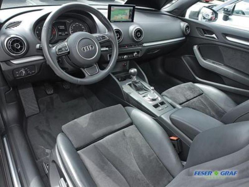 Audi A3 Cabriolet 1.6 TDI 110 cv Gris occasion à Beaupuy - photo n°6