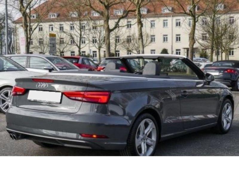 Audi A3 Cabriolet 1.8 TFSI 180 Quattro S Tronic Gris occasion à Beaupuy - photo n°2