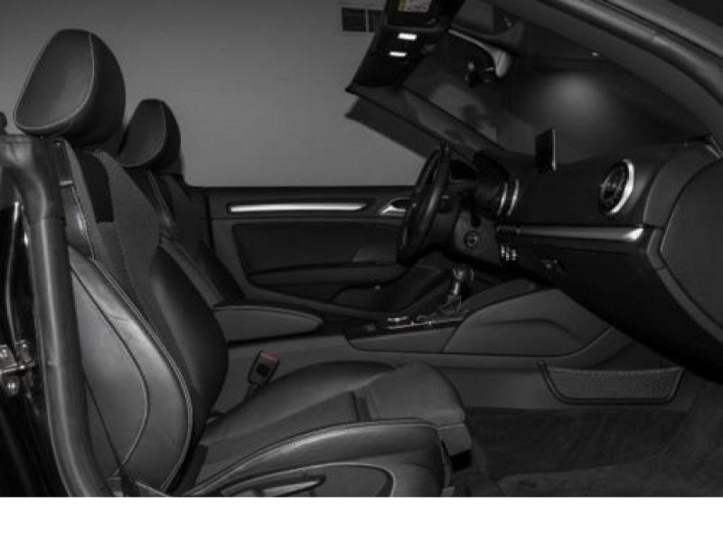 Audi A3 Cabriolet 1.8 TFSI 180 S-Line S Tronic Noir occasion à Beaupuy - photo n°4