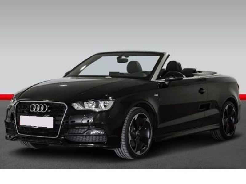 Audi A3 Cabriolet 1.8 TFSI 180 S-Line S Tronic Noir occasion à Beaupuy