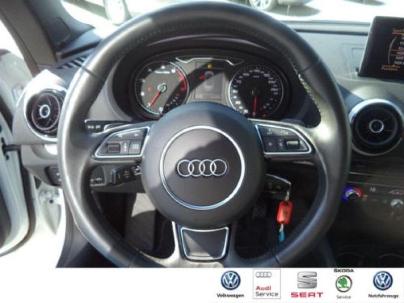 Audi A3 Cabriolet 1.8 TFSI 180 S Tronic Blanc occasion à Beaupuy - photo n°2