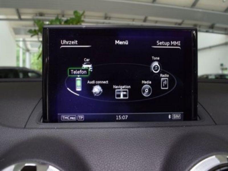 Audi A3 Cabriolet 1.8 TFSI 180 S Tronic Blanc occasion à Beaupuy - photo n°9