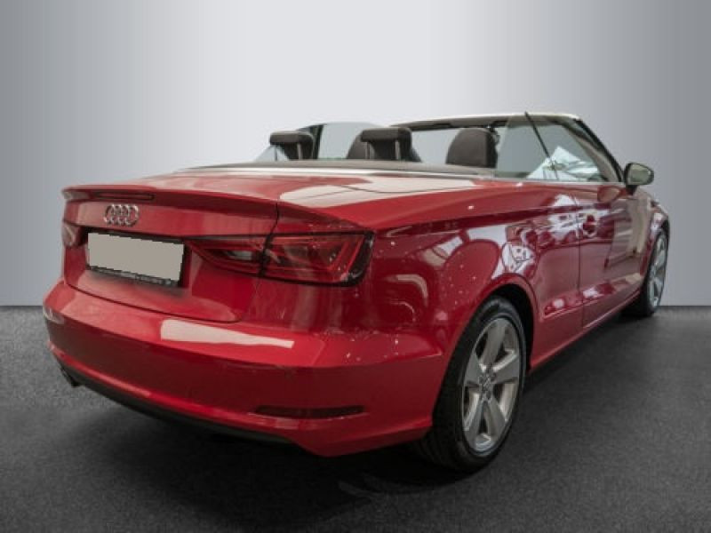Audi A3 Cabriolet 1.8 TFSI 180 S Tronic Rouge occasion à Beaupuy - photo n°3
