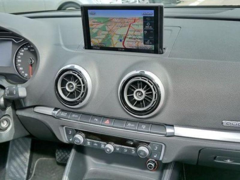 Audi A3 Cabriolet 2.0 TDI 184 Quattro S-Line S Tronic Blanc occasion à Beaupuy - photo n°7