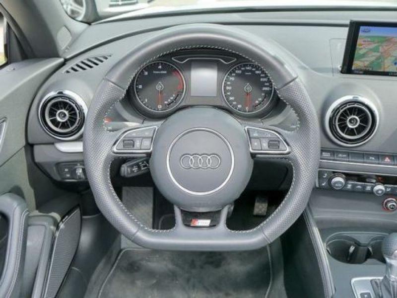 Audi A3 Cabriolet 2.0 TDI 184 Quattro S-Line S Tronic Blanc occasion à Beaupuy - photo n°6
