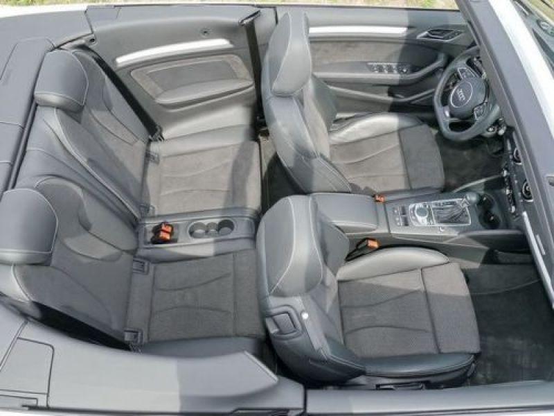 Audi A3 Cabriolet 2.0 TDI 184 Quattro S-Line S Tronic Blanc occasion à Beaupuy - photo n°5