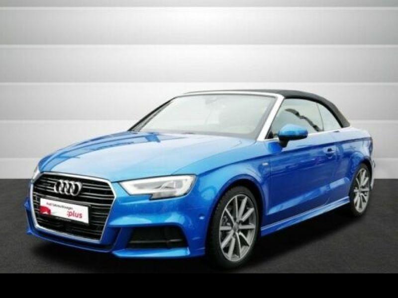 Audi A3 Cabriolet 2.0 TDI 184 S Tronic Bleu occasion à Beaupuy