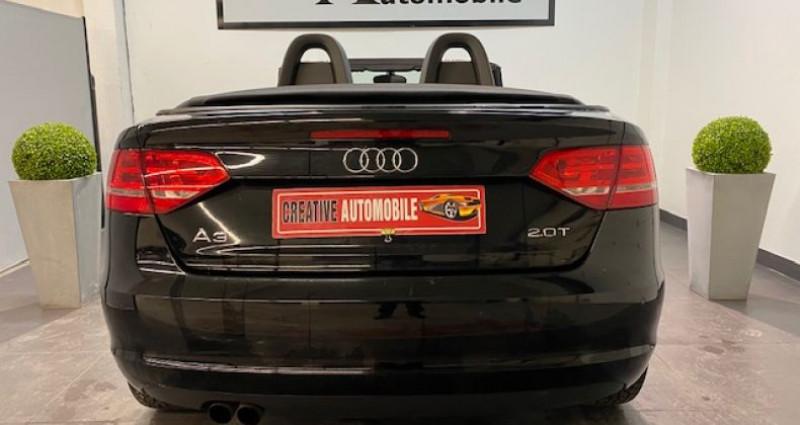 Audi A3 Cabriolet 2.0 TFSI 200 CV GPS 2009 Noir occasion à COURNON D'AUVERGNE - photo n°7