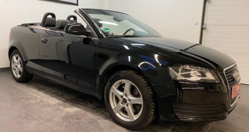 Audi A3 Cabriolet 2.0 TFSI 200 CV GPS 2009 Noir occasion à COURNON D'AUVERGNE - photo n°6