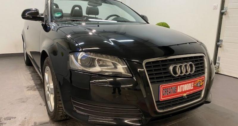 Audi A3 Cabriolet 2.0 TFSI 200 CV GPS 2009 Noir occasion à COURNON D'AUVERGNE - photo n°5