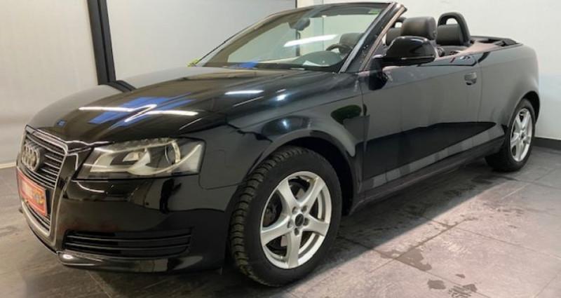 Audi A3 Cabriolet 2.0 TFSI 200 CV GPS 2009 Noir occasion à COURNON D'AUVERGNE - photo n°4