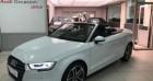 Audi A3 Cabriolet 35 TFSI 150ch Design luxe S tronic 7 Euro6d-T Blanc à Paris 75